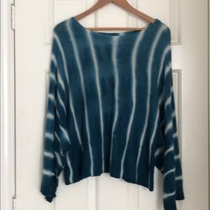 Anthropologie Moth brand tie dyed sweater